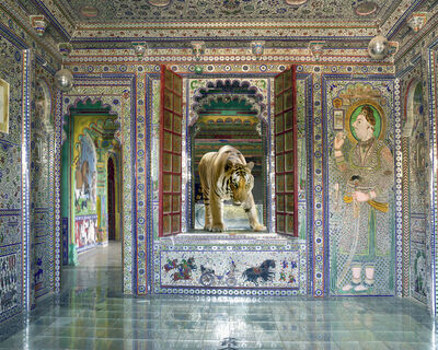 "Karen Knorr, 'Shakti, Juma Mahal, Dungarpur. From the series ""India Song""', 2013"