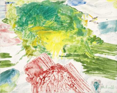 Max Weiler, 'Sun Over Pink Mountain', 1988