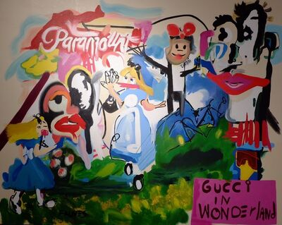 John Paul Fauves, 'Gucci in Wonderland', 2016
