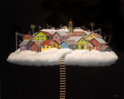 René Martin, 'Viviendo en las nubes - Living in the clouds', 2018