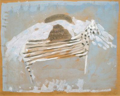 Zoran Antonio Mušič, 'Horse and River', 1952