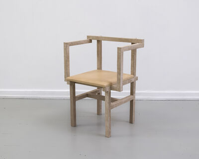 Fredrik Paulsen, 'Stoned Chair 2', 2015
