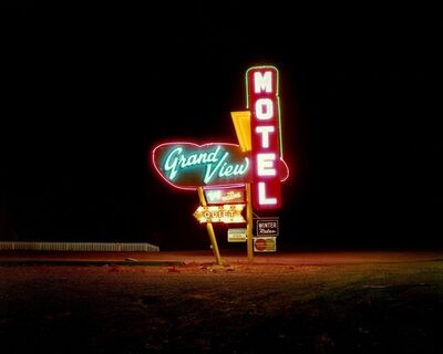 Steve Fitch, 'Grandview Motel, Albuquerque, New Mexico', 1990