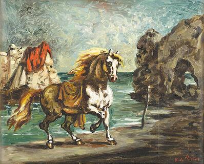 Giorgio de Chirico, 'Cavallo in riva al mare', seconda metà anni 50