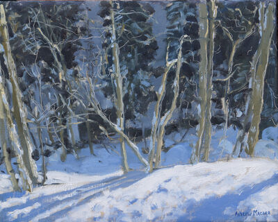 Andrew Macara, 'The Forest, La Clusaz, France'