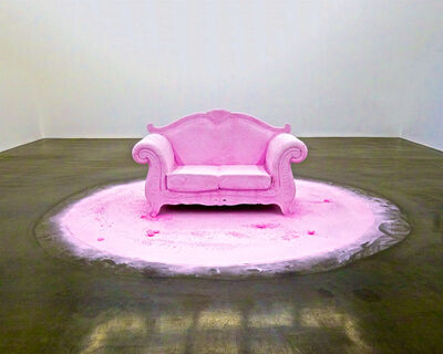 Julie O'Connor, 'Fragrant Pink Couch, Beijing', 2011