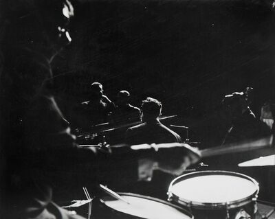 Terence Donovan, 'Dave Brubeck and the Modern Jazz Quartet, London, 20 March', 1959