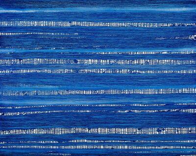 Chae Sung-Pil, 'Terre anonyme(histoire de bleu 180123)', 2018