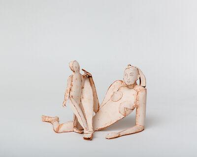 Ann Agee, 'Reclining Nude Madonna', 2020
