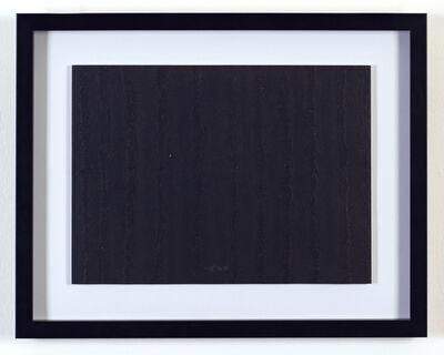 Chiyu Uemae, 'Untitled (Black)', 1985
