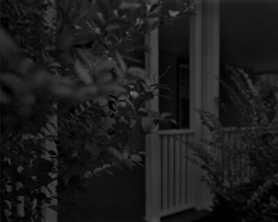 Dawoud Bey, 'Night Coming Tenderly, Black: Untitled #4 (Leaves and Porch)', 2017