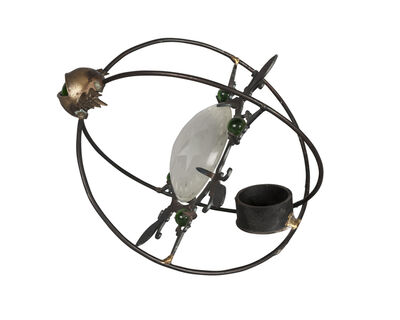 Mark Brazier-Jones, 'an 'Astro-charger' Tea-light candle holder', C.1990