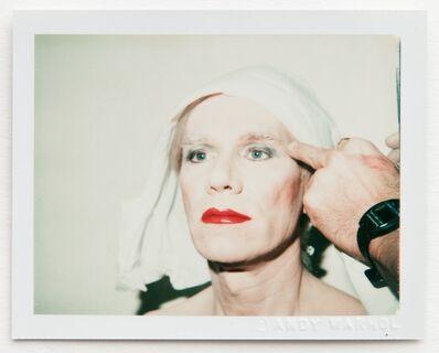 Andy Warhol, 'Andy Warhol, Polaroid Self-Portrait in Drag '