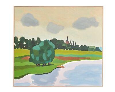 Michael Vogt, 'Der Rhein bei Bislich', 2015