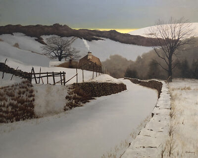 Peter Sculthorpe, 'Snow in Hill Country', 2020