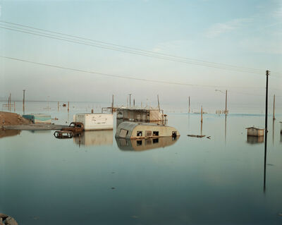 Richard Misrach, 'Submerged Trailer-Home, Salton Sea', 1985