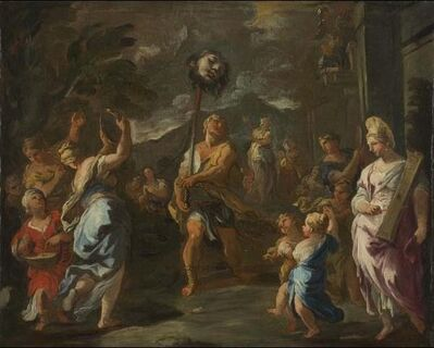 Luca Giordano, 'Study for the Triumph of David', ca. 1690