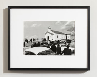 Ernest Cole, 'A Funeral Service in a Baptist Church at Lowdes County, Alabama (from Deep South/New York City Life)', ca. 1973