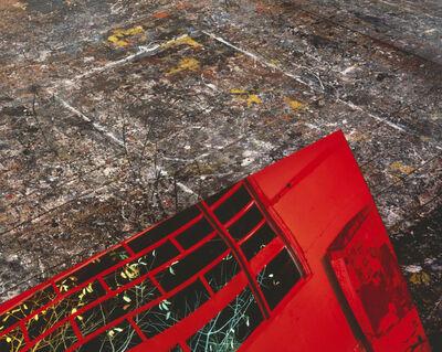 Barbara Kasten, 'JUXTAPOSITION: SITE 4 Pollock / Krasner', 1988