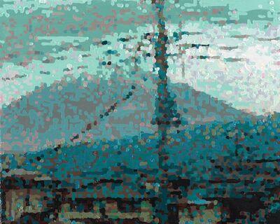 RÖMER + RÖMER, '50 Ansichten Des Berges Fuji_Vom Zug Aus Betrachtet Nr. 45', 2010