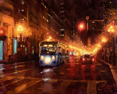 Christopher Clark, 'San Francisco Night', 2020
