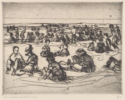 Charles Herbert Woodbury, 'On the Beach', ca. 1920