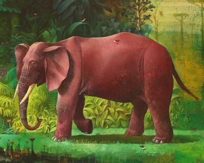 Sylvain Lefebvre, 'The Wandering Elephant', 2021