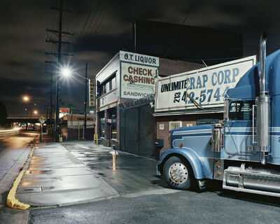 "Will Steacy, 'Truck, Los Angeles, from ""Down These Mean Streets""', 2009"