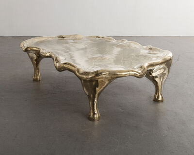 "The Haas Brothers, 'Unique ""Stone Gold Steve Austin"" Hex coffee table. ', 2015"