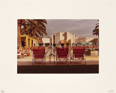 David Hockney, 'Untitled (Poolside)', ca. 1976
