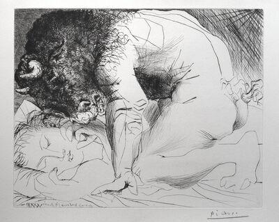 Pablo Picasso, 'Minotaure caressant une dormeuse', 1939