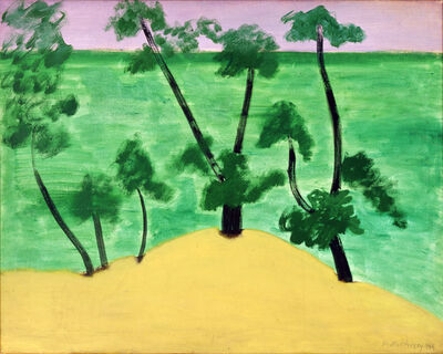 Milton Avery, 'Trees by Southern Sea', 1959