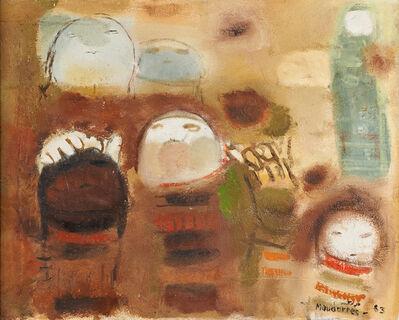 Fateh al-Moudarres, 'Untitled', 1963