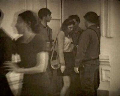Alicia Mihai Gazcue, 'Pasar entre ellos (Walking Through Them)', 1969