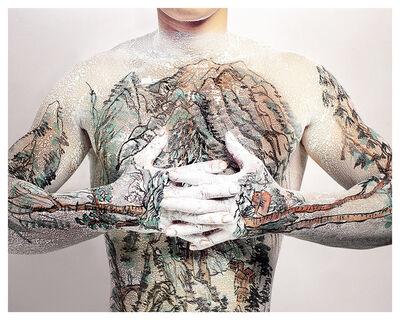 Huang Yan, 'Chinese Shan-shui Tattoo 03', 1999