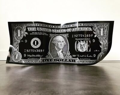 Karl Lagasse, 'One Dollar - Black', 2019