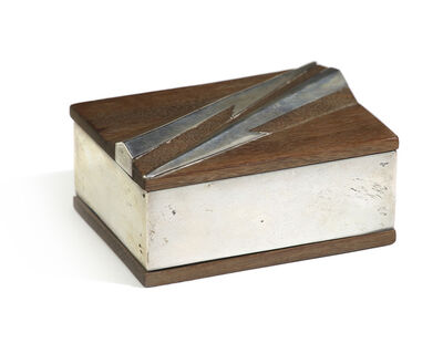 William Spratling, 'A William Spratling wood and silver box', c.1950