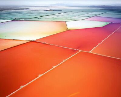 David Burdeny, 'Saltern Study 10, Great Salt Lake, UT', 2015