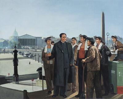 Erró, ' Mao place de la Concorde', 1980