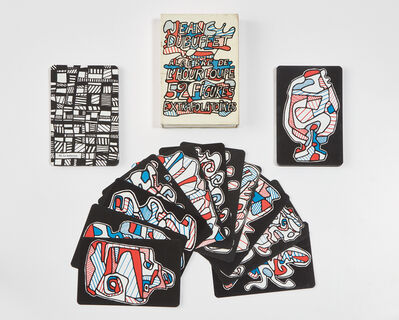 Jean Dubuffet, 'Algebre de l'hourloupe 52 Figures Extrapolatoires (Hourloupe's Algebra, 52 Systematized Cards) [Playing Cards]', 1968
