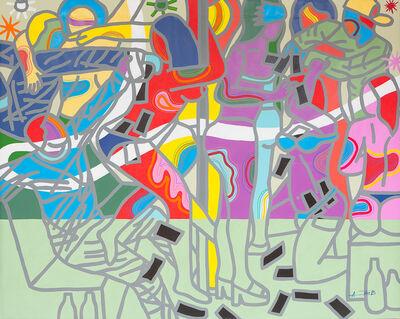 Ajarb Bernard Ategwa, 'Farotage dey sock sock', 2017
