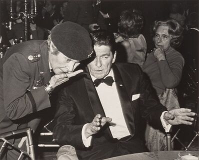 Ron Galella, 'Martha Raye and Ronald Reagan attend Dinner to Honor Returned Prisoners of War, Beverly Wilshire Hotel, Beverly Hills, California', 1973