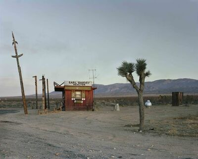 Joel Sternfeld, 'Earl Garvey Realtor, The Mojave Desert, California, July 1979', 1979