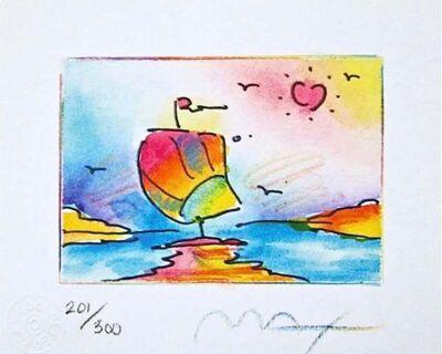 Peter Max, 'Sailboat Series II', 1998