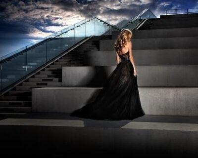 David Drebin, 'Girl in Black Dress', 2011