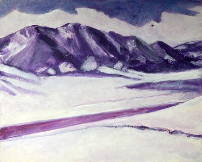Randa Dubnick, 'Snowscene from Boulder Outlook', 2020