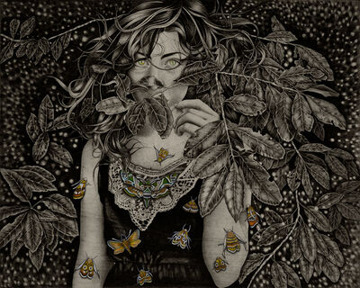 Alessia Iannetti, 'Daphnis Nerii', 2013