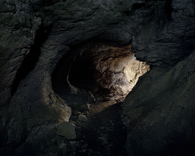Fabio Barile, 'Limestone cave in the karst plateau of Murge in the Apulia Region, Italy.', 2015