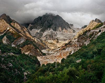 Edward Burtynsky, 'Carrara Marble Quarries #20, Carrara, Italy'