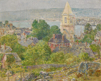 Childe Hassam, 'Gloucester', 1919